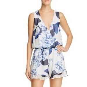NWT Show Me Your Mumu Bouquet Blue Romper